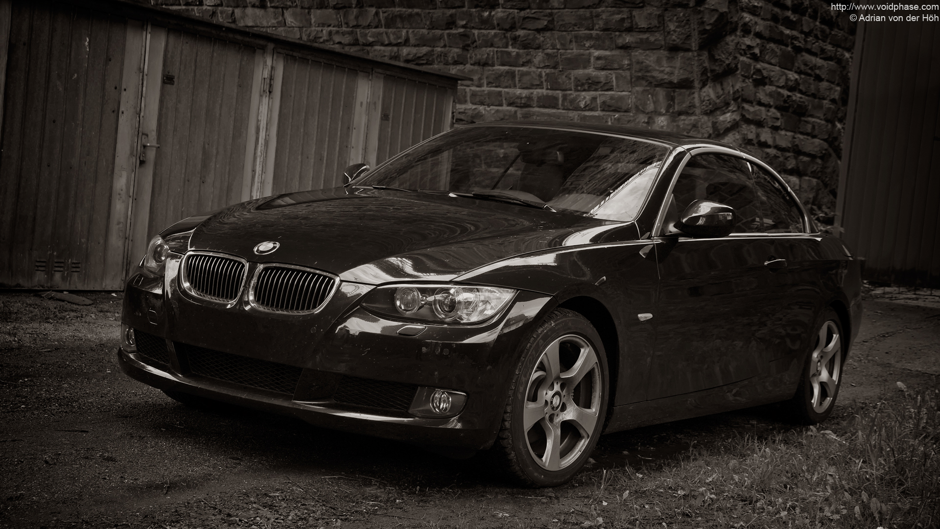 Bmw 3 Series Black Black Bmw 3-series Cabrio