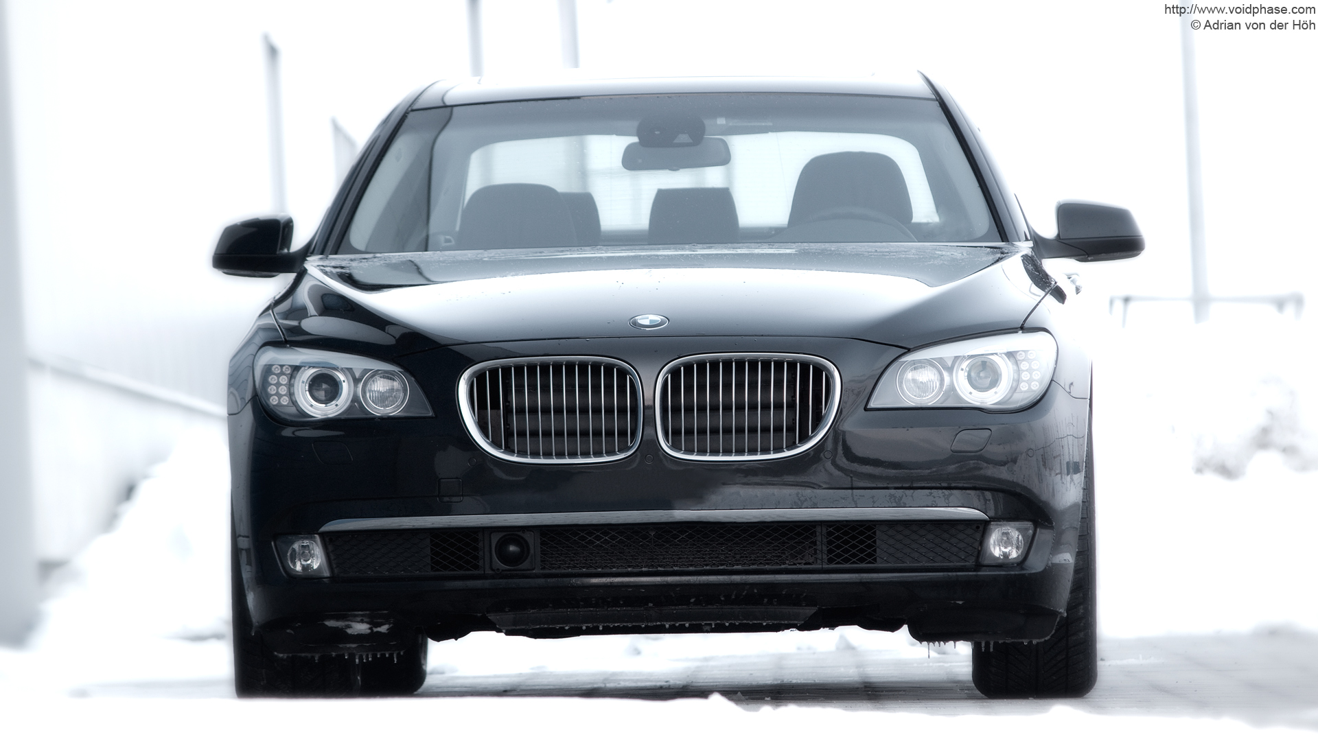 Black BMW 7 Series 720d Icequeen