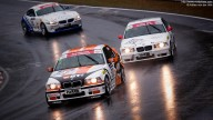 VLN 9/2010, Nürburgring/Brünnchen: Photo of two BMW M3 and a Z4 [503, 504, 516]