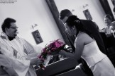 Wedding Photography: Bridal Bouquet Handover in Church