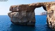The Azure Window on Gozo (wide angle shot)
