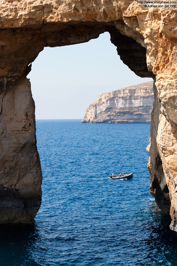 The Azure Window on Gozo (Malta)
